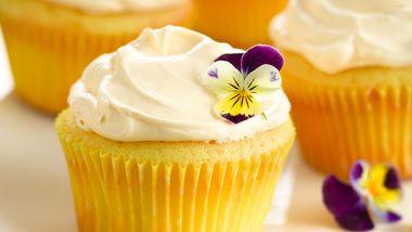 Lemon Crème Cupcakes