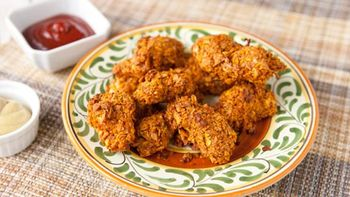 Spicy Chip-Crusted Chicken Fingers