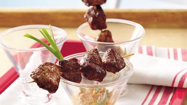 Grilled Barbecue Pork Bites
