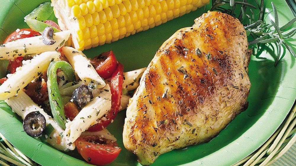 Lemon-Rosemary Grilled Chicken