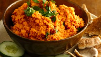 Spicy Carrot Hummus