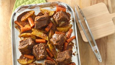 Beer-Braised Short Rib Dinner