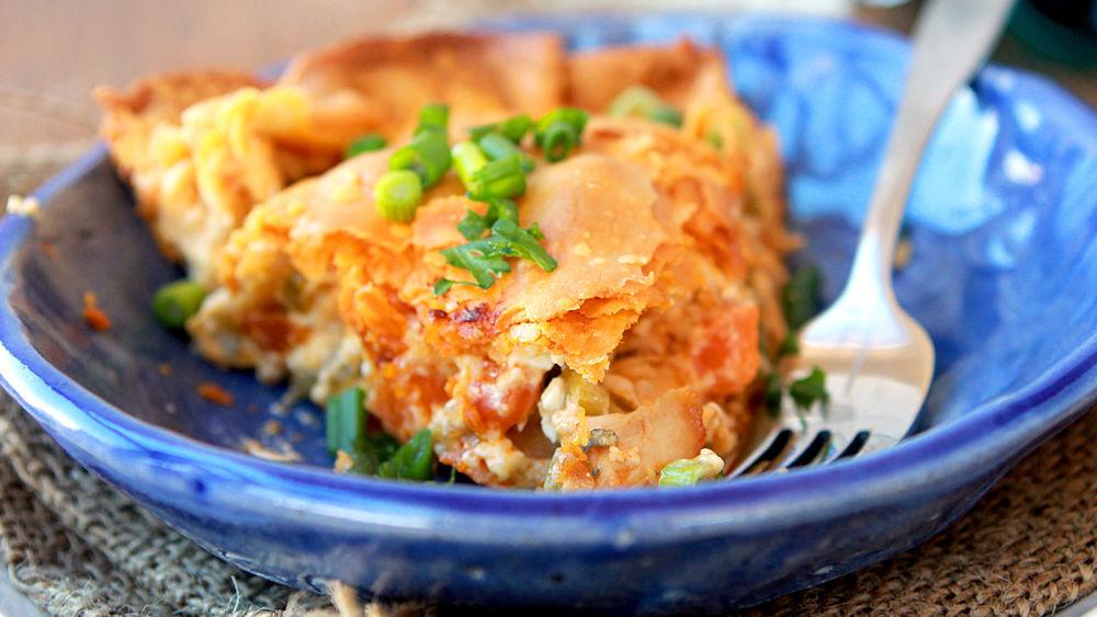 Buffalo Chicken Pot Pie