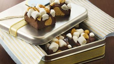 Peanut-Mallow Fudge
