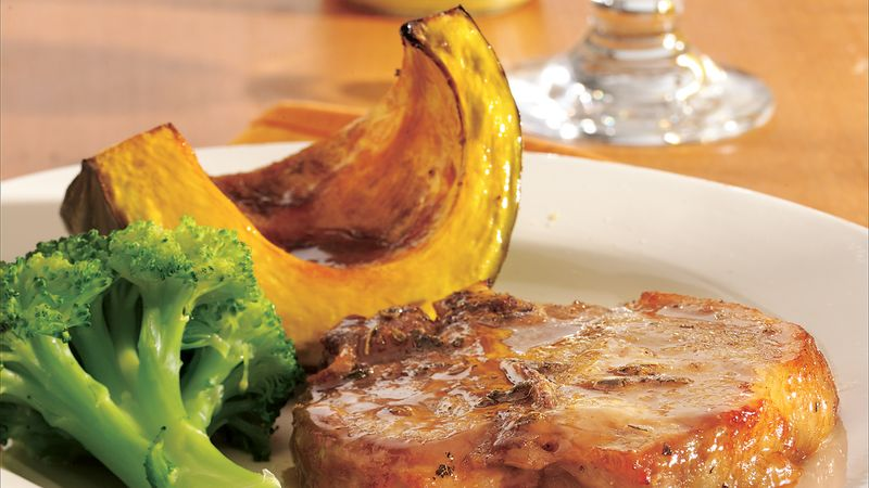 Sage and Maple Roasted Pork and Squash