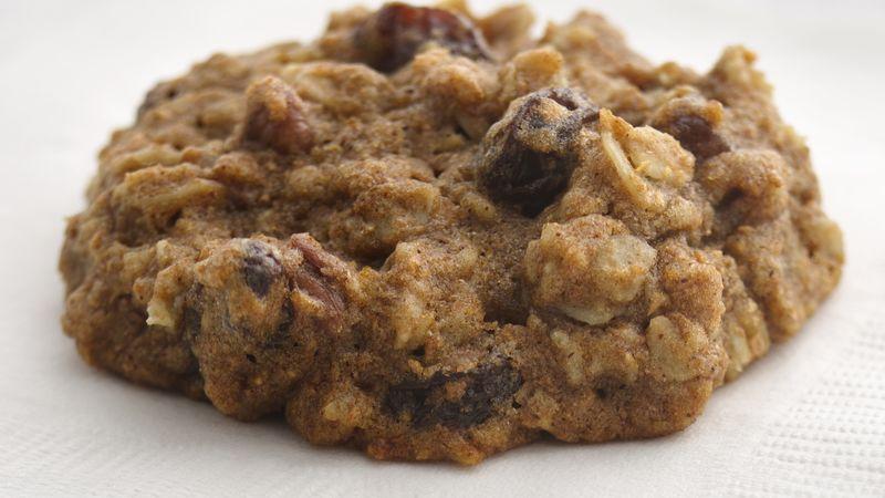 Skinny Oatmeal-Raisin Cookies