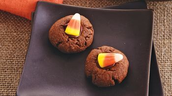 Candy Corn Thumbprints