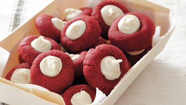 Red Velvet Thumbprints