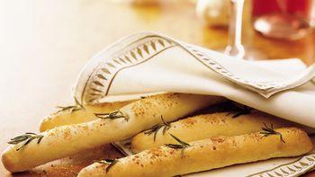Pine Tree Parmesan Breadsticks