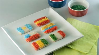 Game Day Cookie Flags