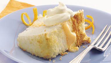 Orange-Cream Angel Cake