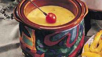 Double-Cheese Fondue