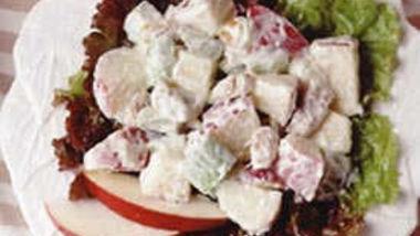 Waldorf Salad (lighter recipe)
