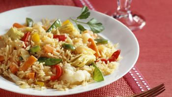 Spanish Rice and Vegetables