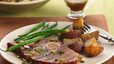 Grilled Maple-Mustard Ham Steak