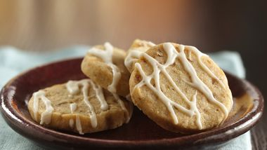 Spicy Ginger Shortbreads