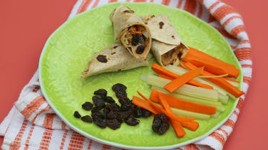 Peanut Butter Snack Wraps