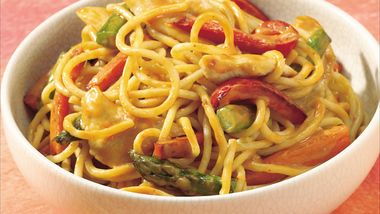 Peanut Chicken with Noodles