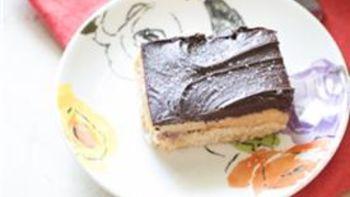 Salted-Caramel Chocolate Shortbread Bars