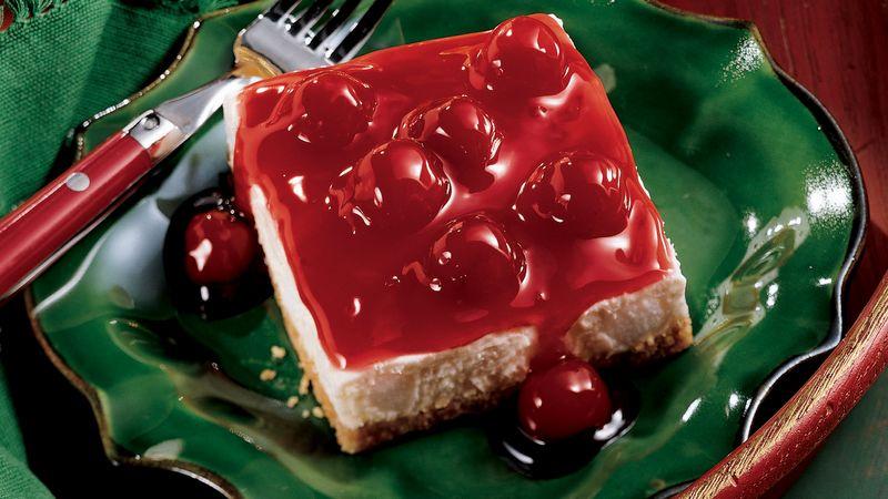 Cherries and Cream Dessert Squares
