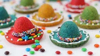 Sombrero Pinata Cookies