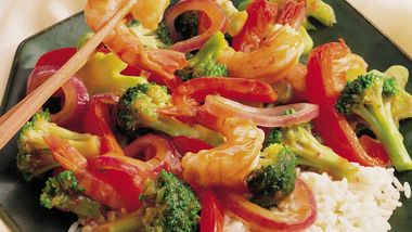 Spicy Shrimp and Broccoli