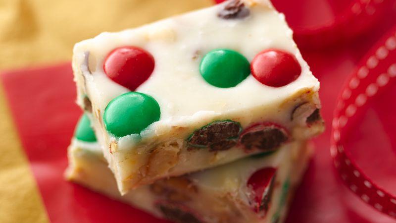 Festive Vanilla Fudge