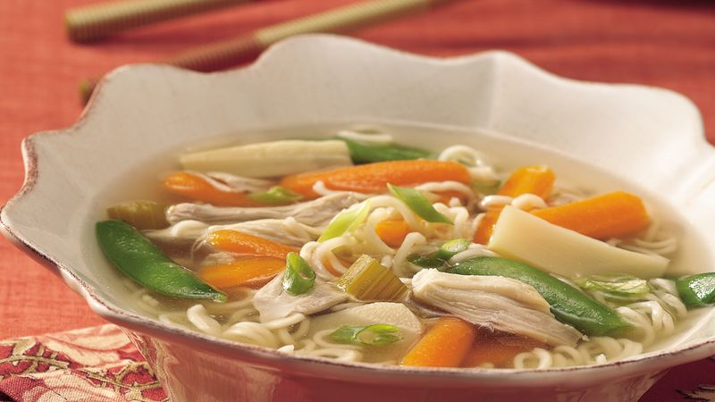 Noodle recipe for chicken soup