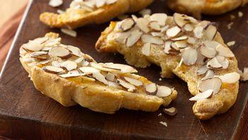 Almond Orange Crescent Toasts