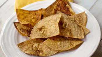 Baked Chili Lime Chips