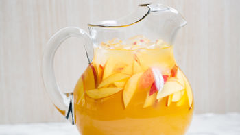 Sweet Bourbon Peach Lemonade