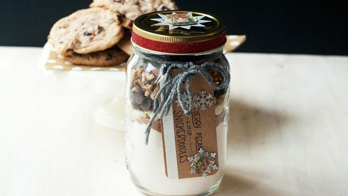 Cherry-Pecan-Chip Snickerdoodle Cookies