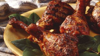 Italian Turkey Drumsticks