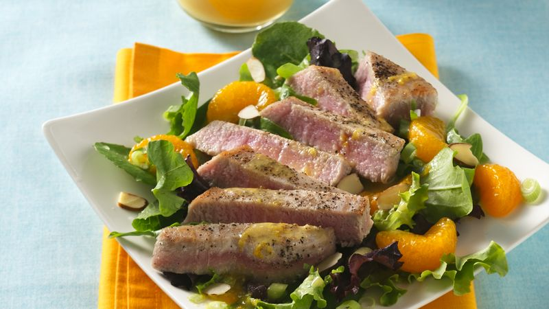 Ahi Tuna Salad with Citrus-Cilantro Vinaigrette