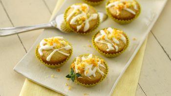 Orange-Thyme Mini Cupcakes