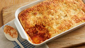 Cheesy Italian Beef Bake