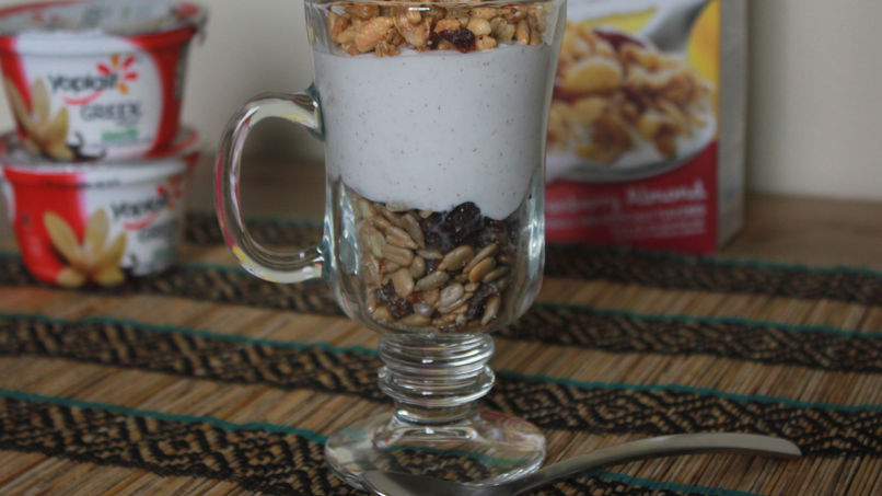 Breakfast Yogurt with Dates