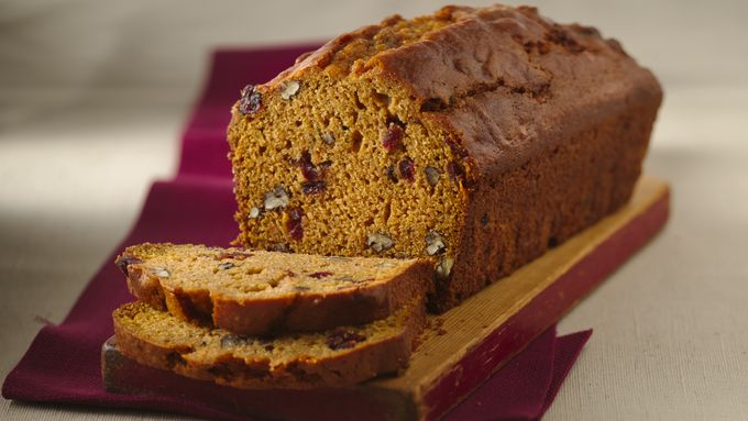 Cranberry-Sweet Potato Bread