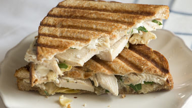 Chicken and Artichoke Panini