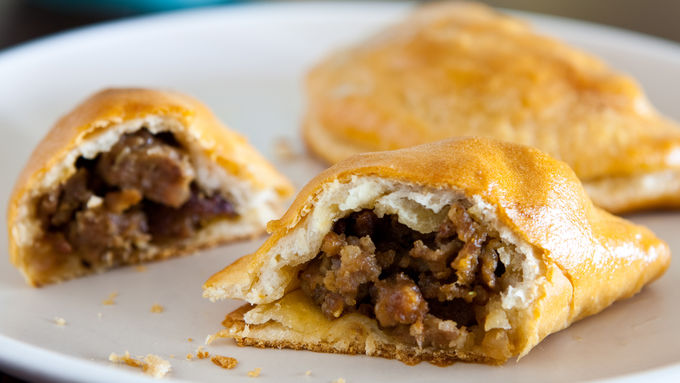 Apple and Sausage Mini Hand Pies