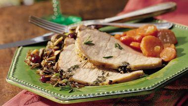 Italian Roast Pork with Rosemary