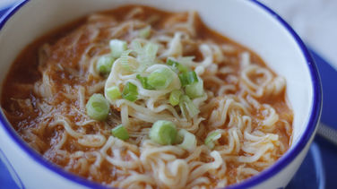 Ramen Soup with Chipotle Chicken