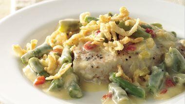 Pork Chop and Green Bean Casserole