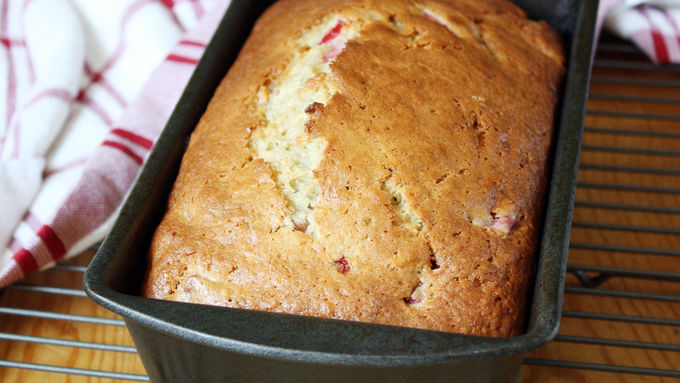 Strawberry-Brown Butter Banana Bread