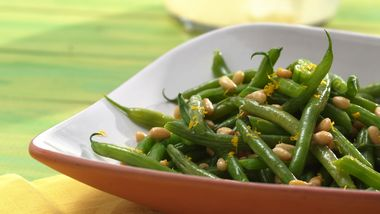 Green Beans with Browned Butter