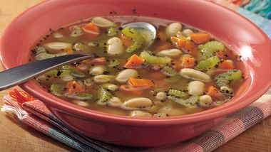 Easy Italian White Bean Soup