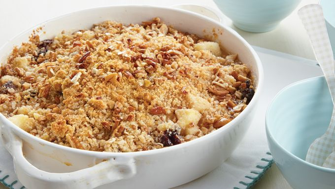Pear-Cranberry-Apple Crisp