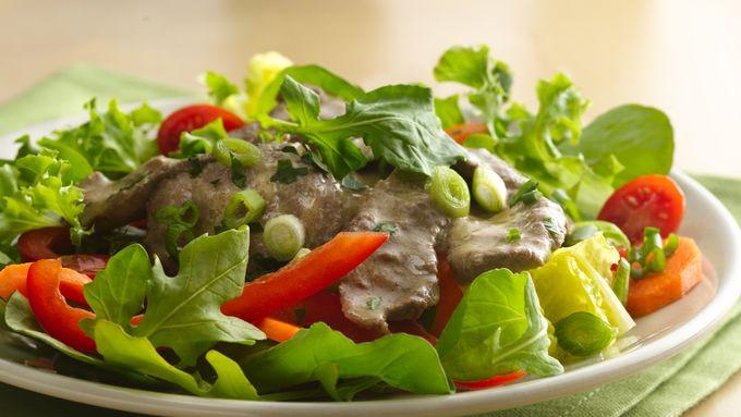 Tangy Steak Salad