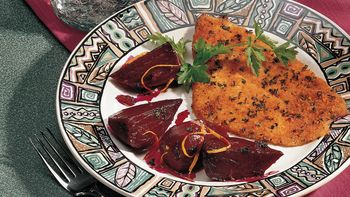 Beets in Sweet Orange Sauce
