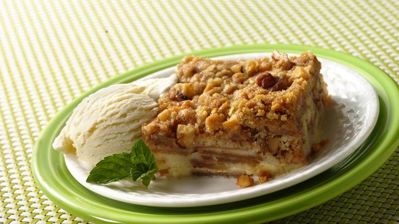 Easy French Apple Dessert Squares